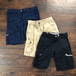 Levi Boys Cargo Shorts Bundle Size 7 Regular